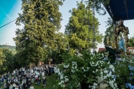 Uroczystości Wniebowzięcia NMP w Kalwaryjskim Sanktuarium - 22 sierpnia 2021 r. - fot. Andrzej Famielec - Kalwaria 24-09853
