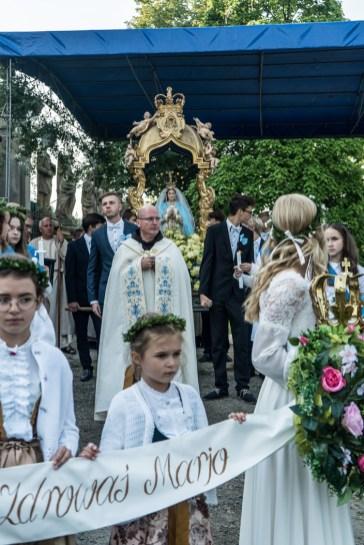 Uroczystości Wniebowzięcia NMP w Kalwaryjskim Sanktuarium - 22 sierpnia 2021 r. - fot. Andrzej Famielec - Kalwaria 24-09920
