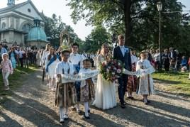 Uroczystości Wniebowzięcia NMP w Kalwaryjskim Sanktuarium - 22 sierpnia 2021 r. - fot. Andrzej Famielec - Kalwaria 24-09927