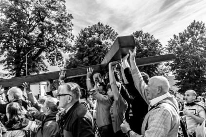 29 Pilegrzymka Rodzin Archidiecezji Krakowskiej do Sankturium w Kalwarii Zebrzydowskiej - 5 września 2021 r. - fot. Andrzej Famielec - Kalwaria 24-01824