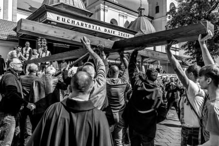 29 Pilegrzymka Rodzin Archidiecezji Krakowskiej do Sankturium w Kalwarii Zebrzydowskiej - 5 września 2021 r. - fot. Andrzej Famielec - Kalwaria 24-01841