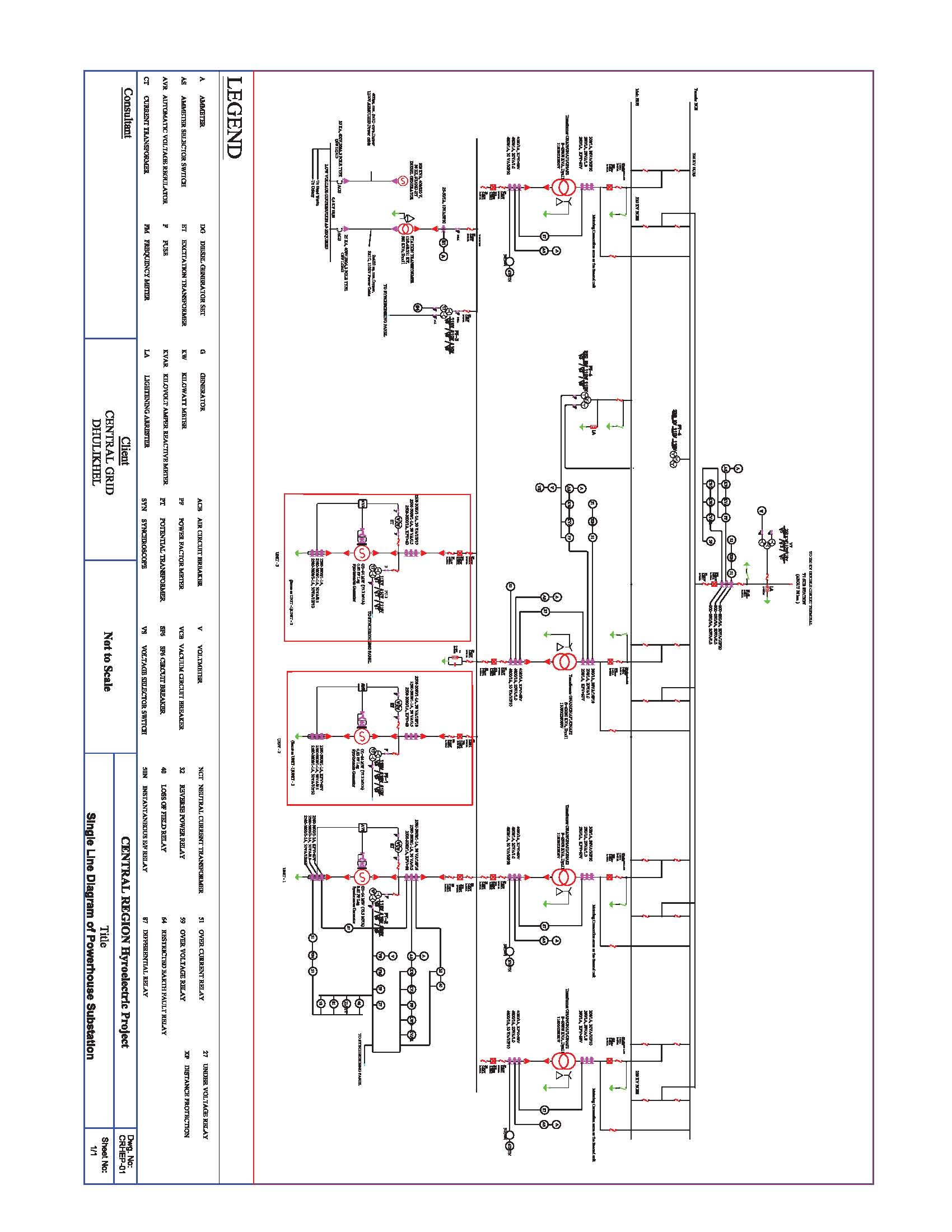 typical single line diagram system engineering and design