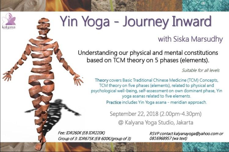 yin yoga - journey inward