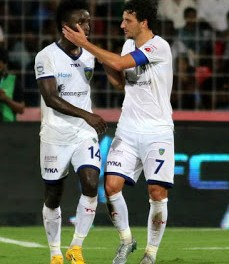 Colombian Express Mendoza earned Chennaiyin FC their first victory