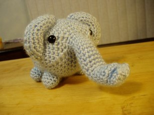 elephant - free pattern from Lion Brand