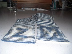 illusion knit scarf - original (wool)