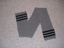 scarf - free pattern from National WWII Museum (wool)