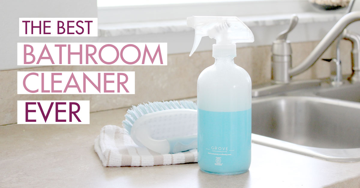 Best Homemade Shower Cleaner Powers Through Soap Scum in