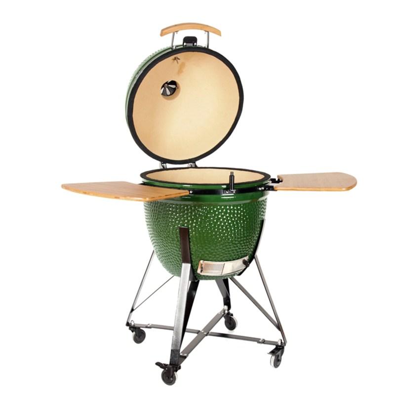 Green Egg kamado;Ceramic BBQ Grill