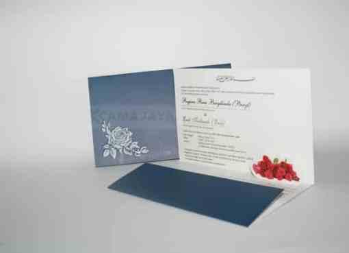 Cover depan dan bagian isi undangan beryl - erik