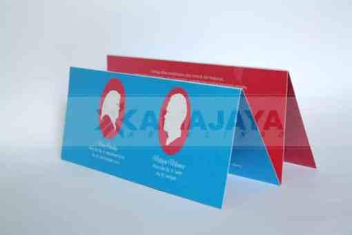 Photo siluet Undangan Pernikahan Dina - Waluyo