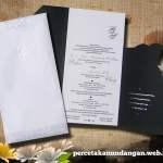 undangan unik bentuk gaun