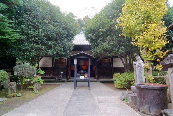 円応寺の境内の様子。