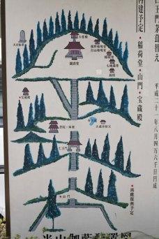 杉本寺境内図。