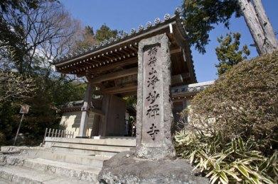 さすがは足利氏の氏寺。門前にも風格があります。