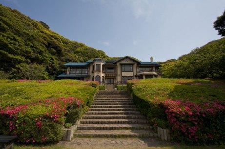 庭園もそのまま残されているのが素晴らしいです。鎌倉の谷戸を感じられます。