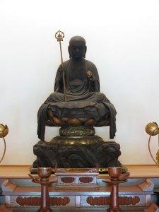 円覚寺、佛日庵の本尊、延命地蔵尊です。南北朝時代につくられました。普段は非公開ですが、時折公開されます。