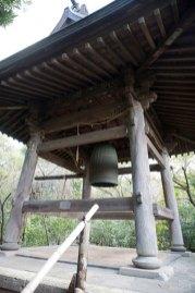 宝戒寺の梵鐘。