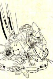 菊池容斎が1903年に描いた和田義盛。