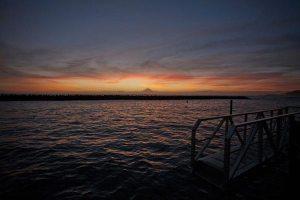 三浦半島(佐島)の夕陽