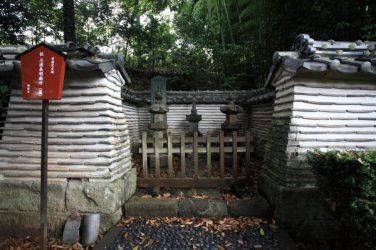 満昌寺、三浦義明廟所。
