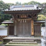霊光寺。七里ケ浜の静かな山間にあります。