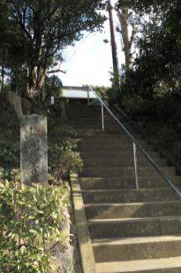 階段を登り清雲寺本堂へ。