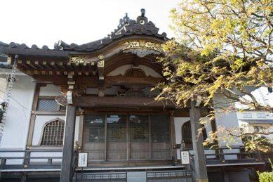 鎌倉の七福神めぐり。妙隆寺本堂。