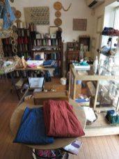 木木の店内は商品が絞り込まれており、それが店の個性を強くしています。