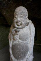 鎌倉の七福神めぐり。浄智寺の布袋尊は独特の御姿をしています。