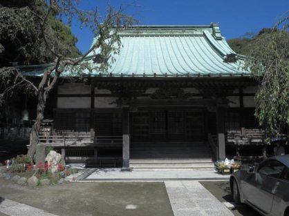 法勝寺本堂。