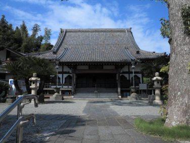 東漸寺境内。