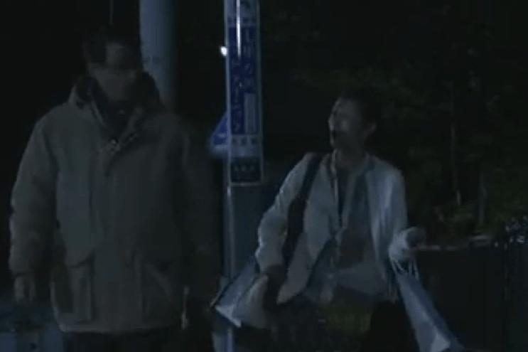 極楽寺駅から極楽寺坂切通しをへて長倉家に向かう道。