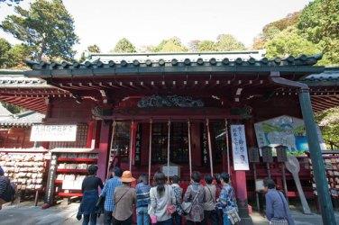 箱根神社の拝殿。