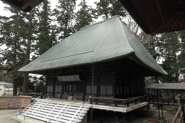 清澄寺、祖師堂。昭和48年(1973年)に落慶しました。