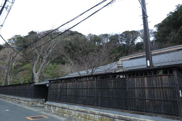 平成31年(2019年)3月28日、窟小路、川喜多邸前の桜。