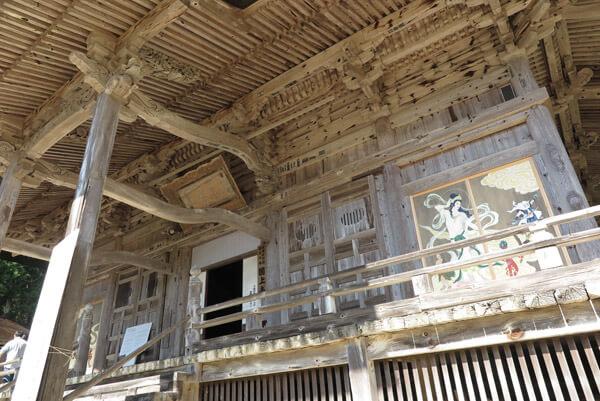 国上寺、本堂(阿弥陀堂)。