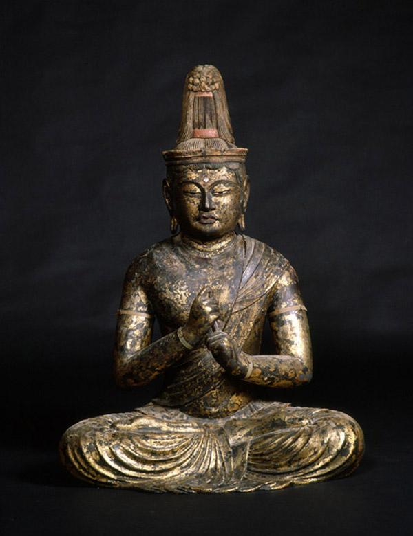 修禅寺の御本尊、大日如来坐像。