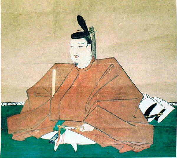 源範頼肖像画(神奈川県横浜市金沢区の太寧寺に所蔵)。