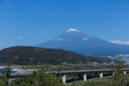 富士山と富士川。