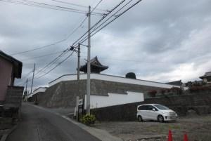 呼子坂。坂を上ると清岩寺という寺院があります。あの辺りが頼朝の陣場でしょうか? 大軍勢ですから付近一帯に人馬がひしめいていたのでしょう。