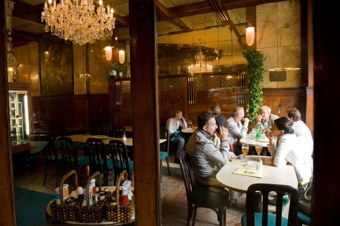 Café del hotel Europa