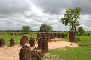 GAMBIA. Círculos de piedra de WASSU.