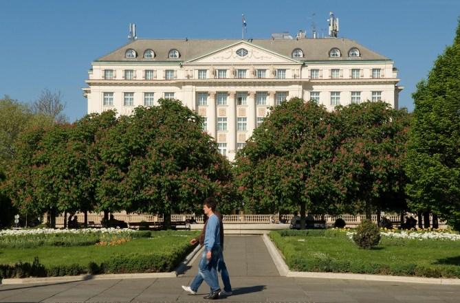 CROACIA. ZAGREB. Hotel Regent Esplanade.