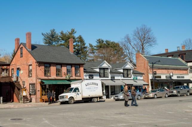 Centro del pueblo de Concord.