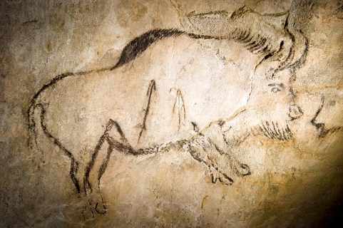 FRANCIA. ARRIÈGE. Pinturas en la Cueva de Niaux.