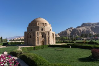 Jabalieh or Rock Dome, also known as the Gabri Dome. Kerman. Iran