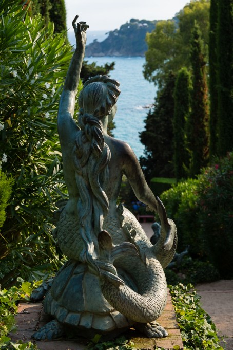 Jardines de Santa Clotilde.