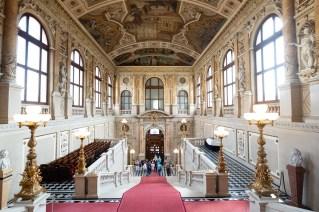 Interior del Burgtheater.