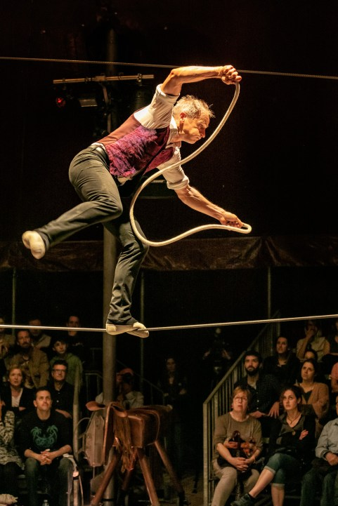 David Dimitri, One-Man Circus.